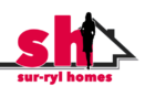 Logo for Sur-Ryl Homes - features lowercase letters